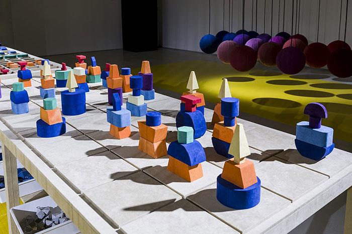 """Alcantara at MAXXI Project: """"Playful inter-action"""""""