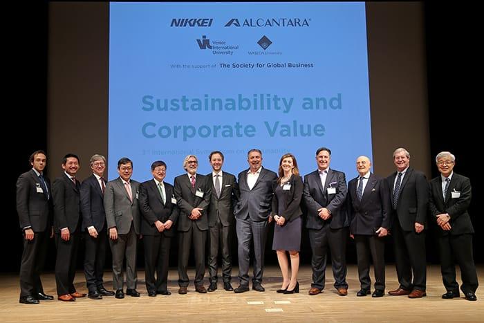 Alcantara e l'International Symposium on Sustainability 2016
