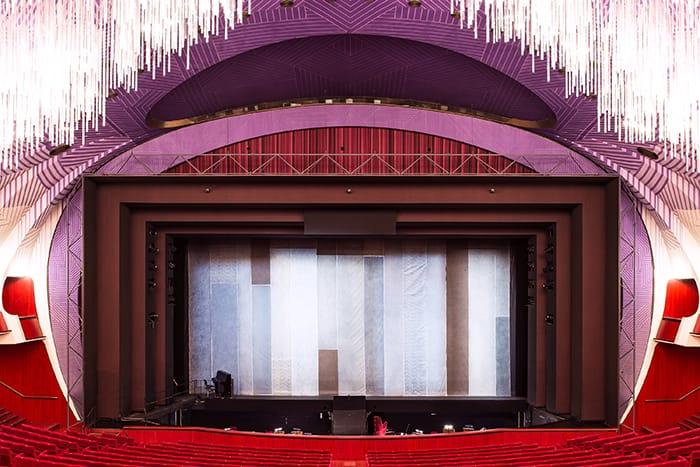Falstaff and Alcantara on stage at Teatro Regio