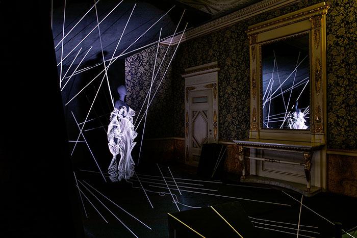 "Alcantara presents ""Nine Journeys Through Time. Alcantara and Art in the Apartment of the Prince"""