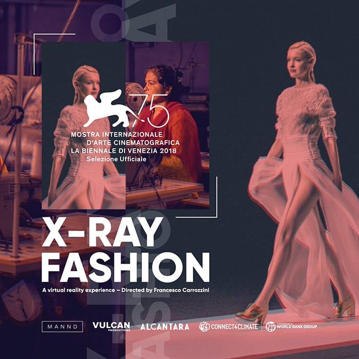 "Alcantara: X-Ray Fashion presented at the 75<span style=""text-transform: lowercase;""><sup>th</sup></span>"