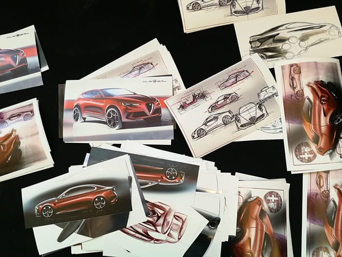 Alcantara & Alfa Romeo, protagonists at the Esquire Middle East's Townhouse