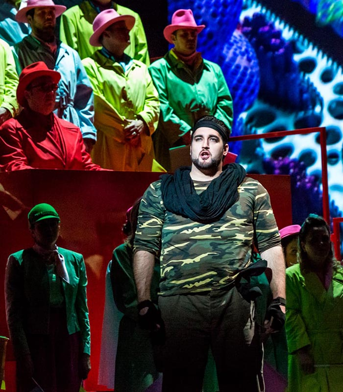 Alcantara dresses Turandot at the Teatro Massimo
