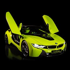 """Alcantara and BMW together for the <span style=""""text-transform: lowercase;"""">i8</span> Roadster LimeLight Edition"""